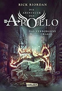 *Rezension* Die Abenteuer des Apollo – Das Verborgene Orakel, Rick Riordan