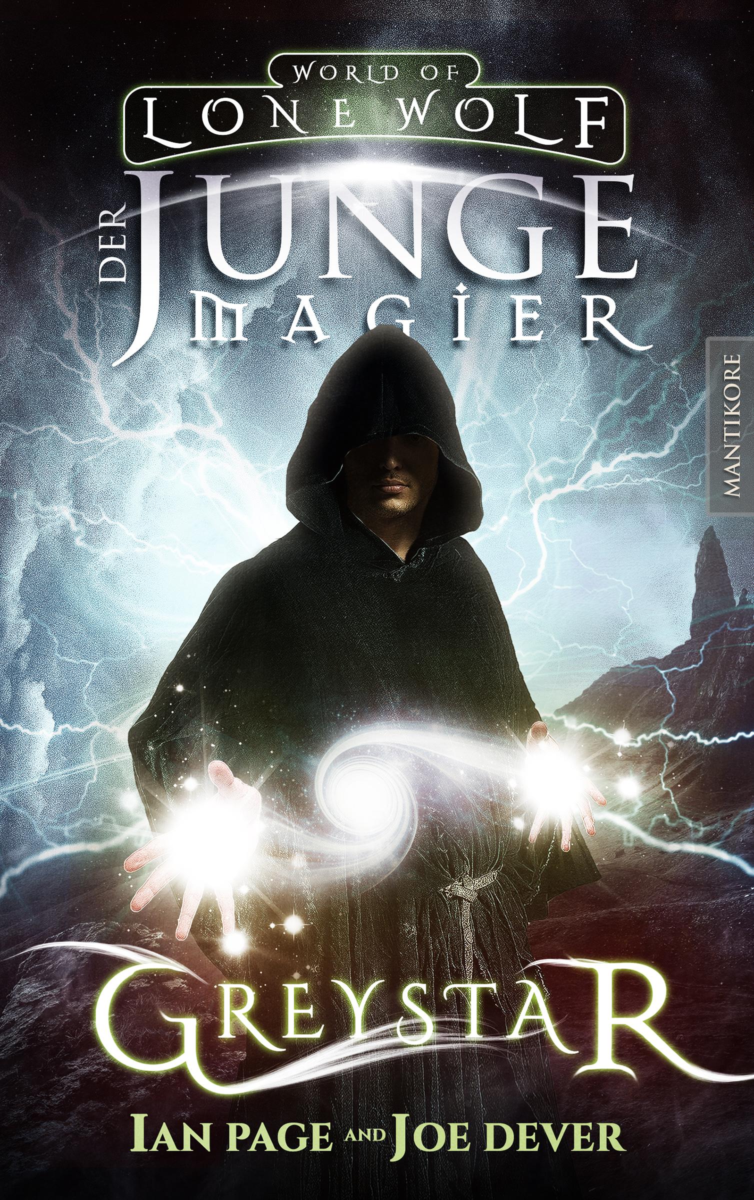 *Rezension* Greystar 1 – Der junge Magier von Joe Dever und Ian Page