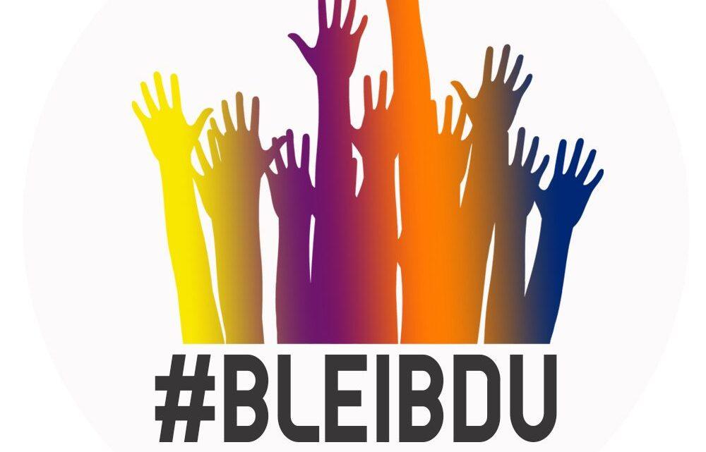 #bleibdu – Über Mitläufer und Stärke Beweiser