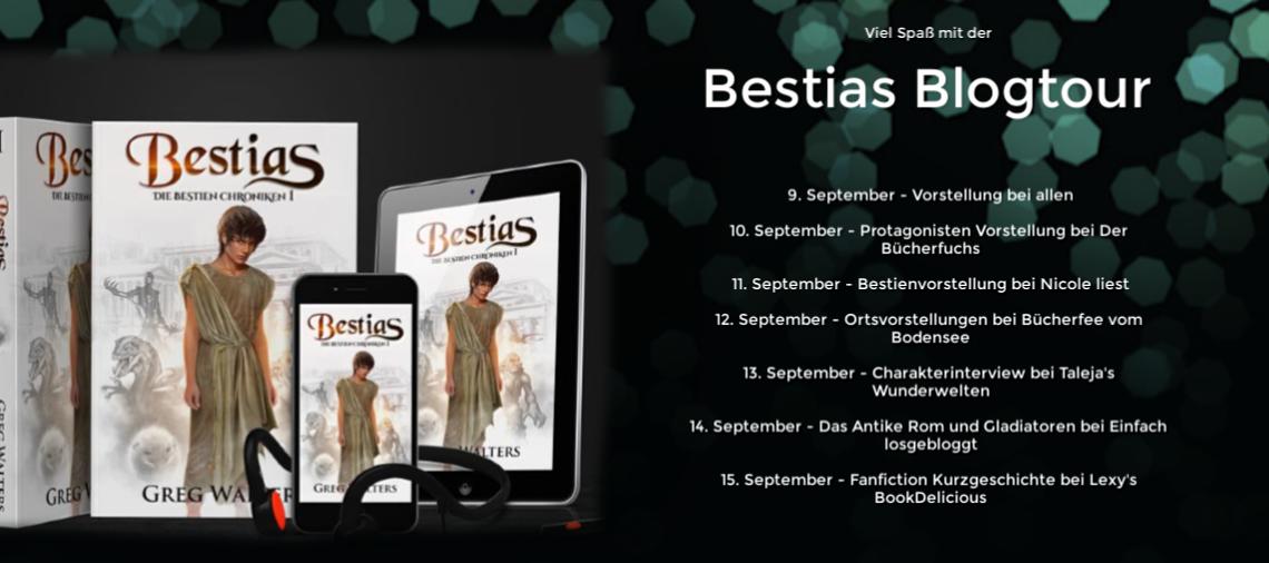 *Blogtour* Die Bestien Chroniken – Fanfiction Geschichte von Lexy